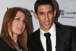 di maria wife 266x179 Home, Manchester United News