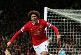 marouane fellaini vs stoke 266x179 Home, Manchester United News