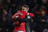 Marcos Rojo gives his Man Utd shirt to away fan at Southampton