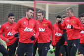 Pictures: Man United training ahead of Southampton match