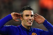Robin van Persie sends message of thanks to 'amazing' Man United fans