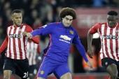 Marouane Fellaini splits fans over performance against Southampton