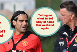 Van Gaal gets a 'twitchy ass' from watching Man United play 4-4-2