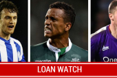 Man United loan watch: Nani scores again, Cleverley suffers defeat and Hernandez warms the bench.