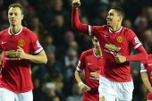 Manchester United's Andreas Pereira hails Chris Smalling after unlikely brace