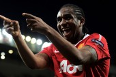 Former Manchester United midfielder Anderson given oxygen after struggling with high altitude conditions