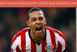 Fans' view: Should Manchester United sign Memphis Depay?