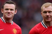 Wayne Rooney: Paul Scholes and Cristiano Ronaldo are the best I've played with