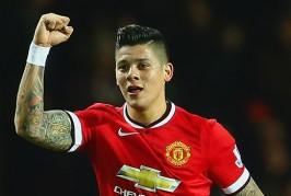 Rojo could return against Arsenal