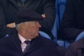 Sir Alex, Giggs and Butt attend Man City game