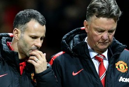 Van Gaal slaps Giggs again in celebration