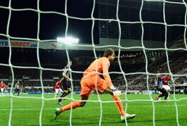 Pictures: Newcastle 0-1 Man United – Young goal sparks wild celebrations