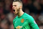 De Gea thanks Man United squad after PFA nomination