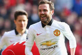 Man United fans sing Mata chant at Anfield