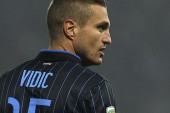 Vidic's agent: Defender is happy at Inter