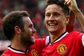 Mata and Herrera reveal delight with Man Utd win
