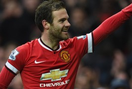 Juan Mata all smiles on way to Chelsea game
