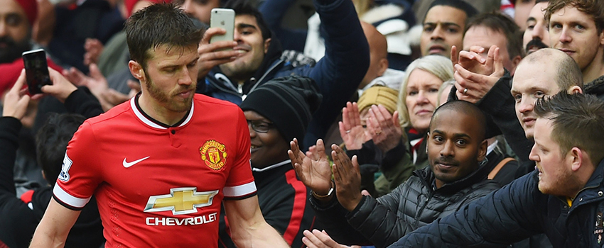 Michael Carrick a 'major doubt' for Everton game