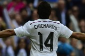 Chicharito starts in Champions League Madrid derby