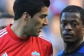 Evra: I will shake Suarez's hand